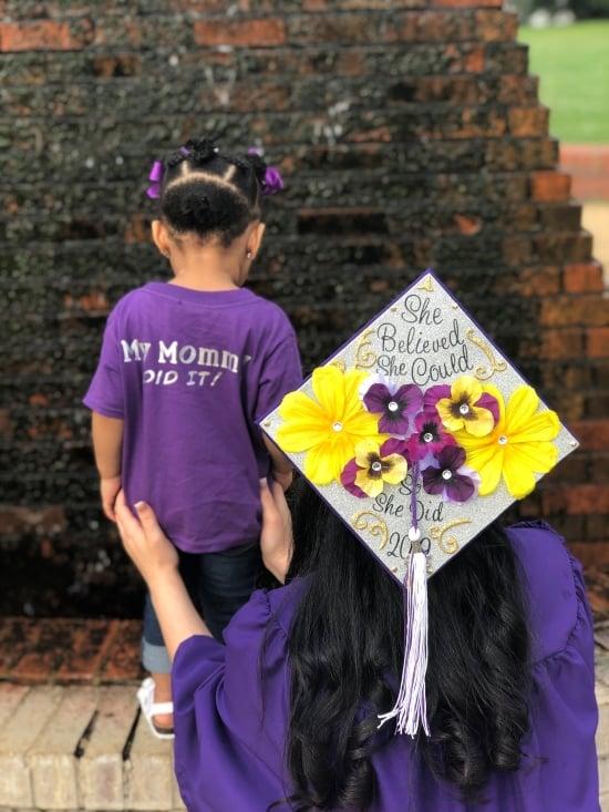 graduation cap idea for a mom