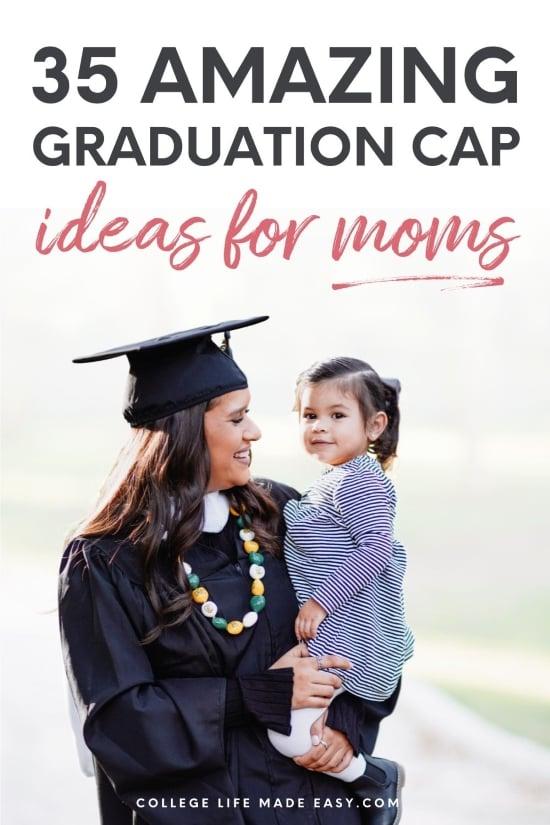 amazing graduation cap ideas for moms Pinterest