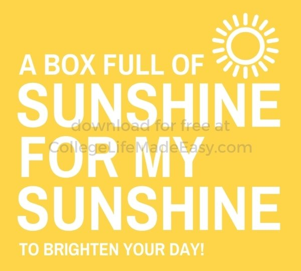 a box full of sunshine to brighten your day free printable example 4