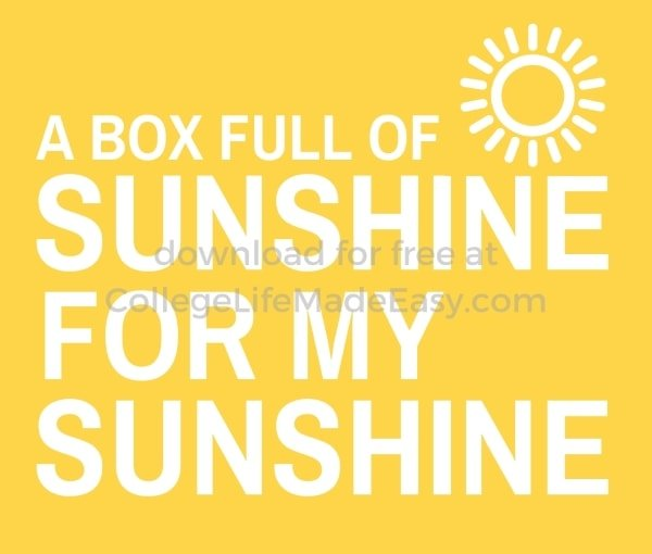a box full of sunshine for my sunshine printable example 2