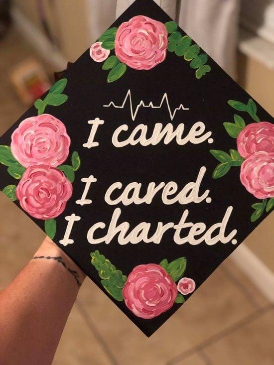 nurse graduation cap decoration ideas example