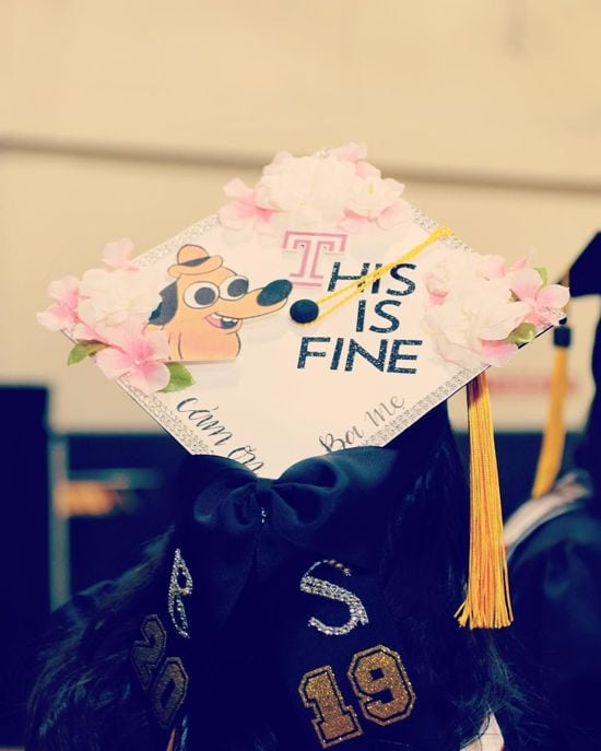 this is fine graduation topper design