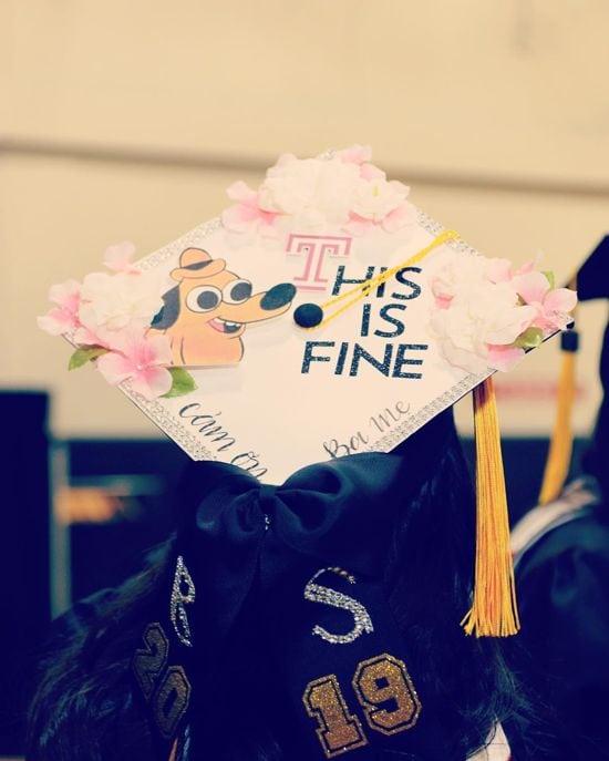 this is fine graduation topper design