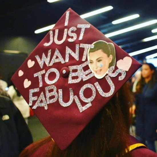 example of easy graduation cap idea