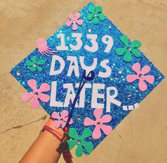 1339 days later spongebob graduation cap example