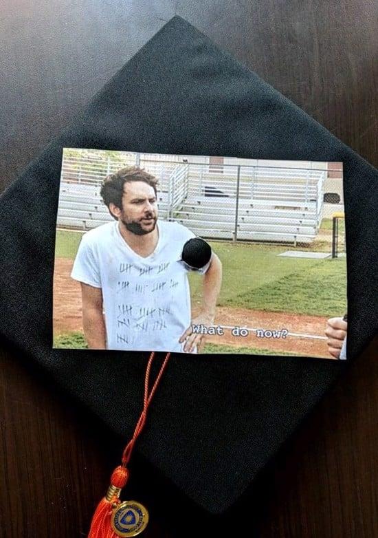 cut and paste funny grad cap