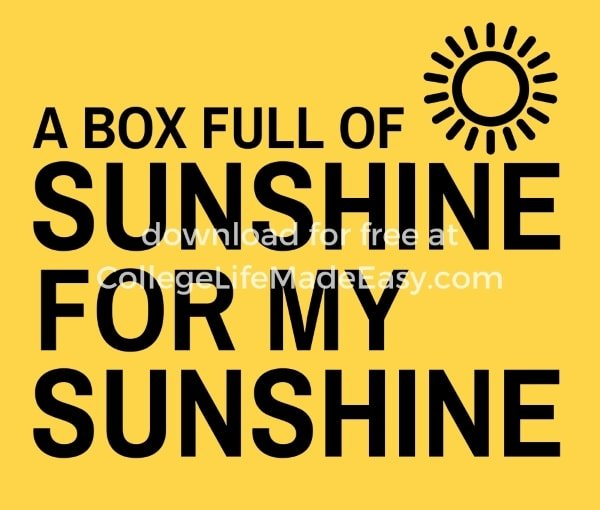a box full of sunshine for my sunshine printable example 1