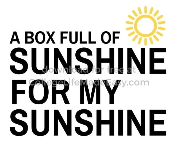 a box full of sunshine for my sunshine printable example 3