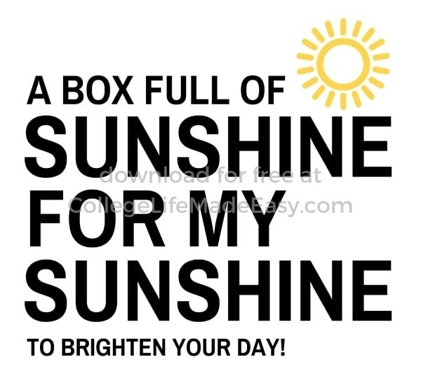a box full of sunshine to brighten your day free printable example 2