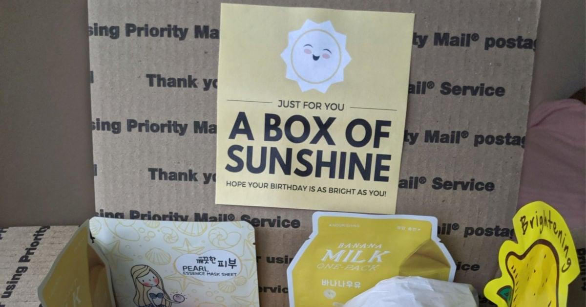 Box of Sunshine Printable – Free to Download & Print!
