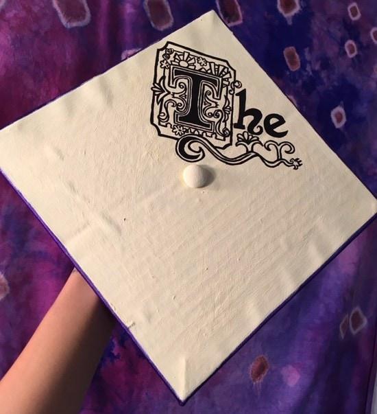 fancy the grad cap decoration idea