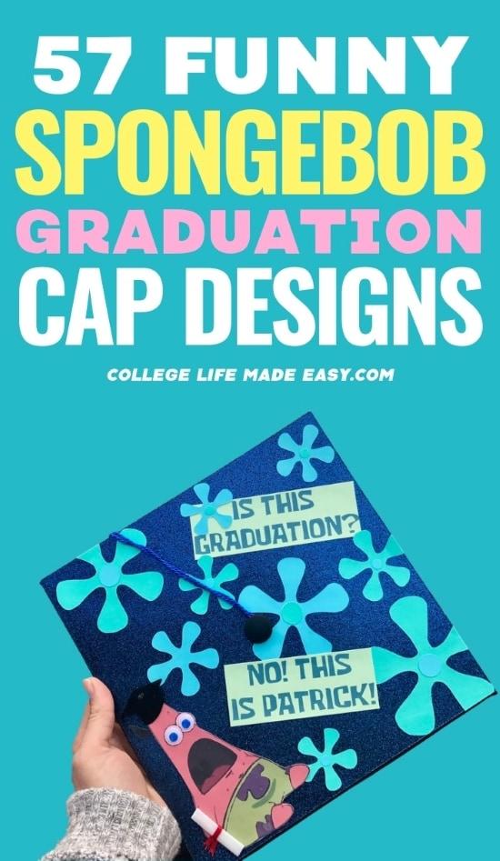 57 funny spongebob graduation cap designs - Pinterest