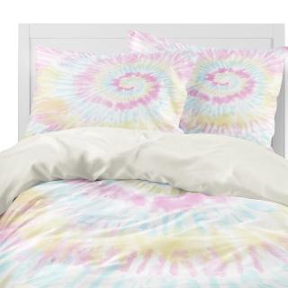 Pastel Tie Dye Comforter set