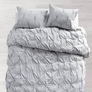 27 Grey Soft Loft Duvet and Sham Set from Dormify