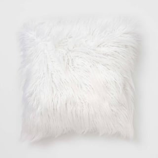 Faux Mongolian Square Pillow from Dormify