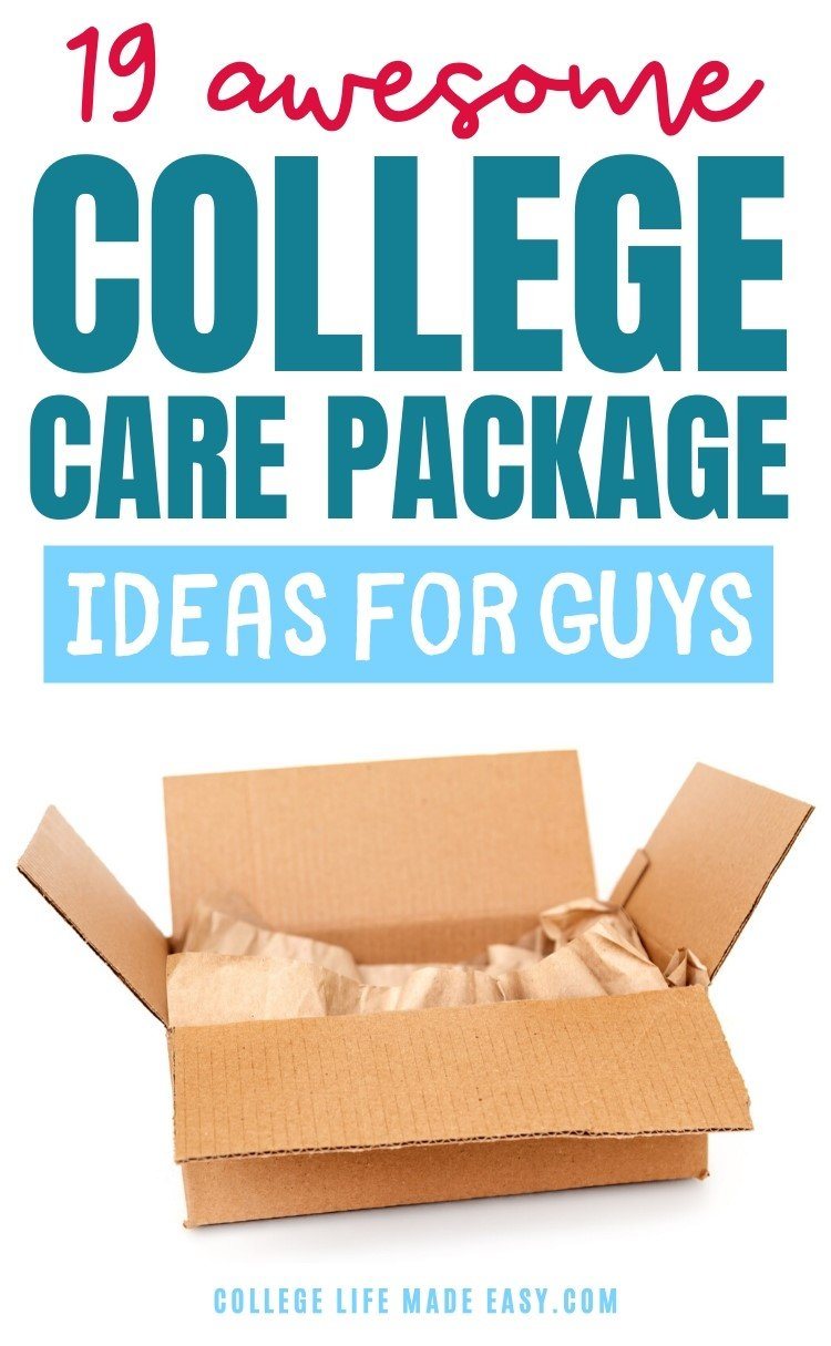 awesome college care package ideas for guys - Pinterest