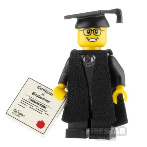 Lego Series Mini Figure Graduate