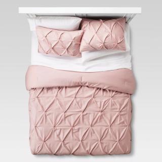 Dorm Room Pinched Pleat Comforter Set - Threshold