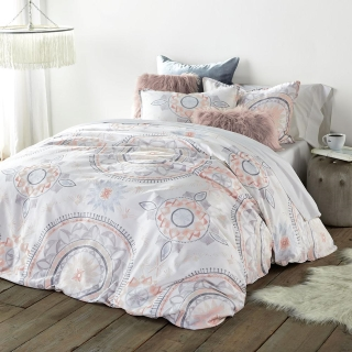 Painted Medallion Duvet Cover and Sham Set from Dormify