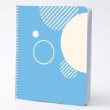 classtracker ultimate student planner with light blue cover design