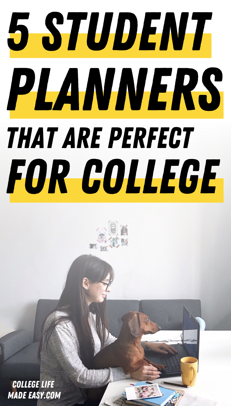5 student planners that are perfect for college
