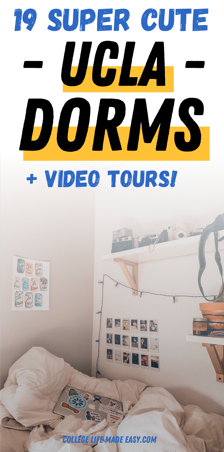 19 cute dorms in UCLA + video tours! Save to Pinterest for later