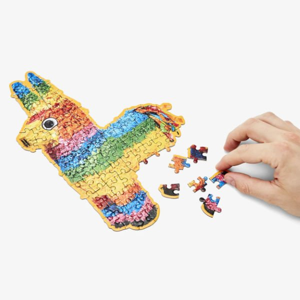 example of fun gift idea for guy in college - men's little puzzle thing: pinata