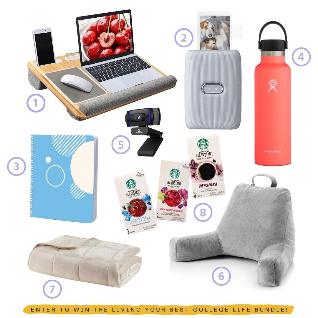 shown in picture are the items being offered in the giveaway