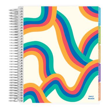 Erin Condren Academic Student Planner in Endless Rainbows cover design