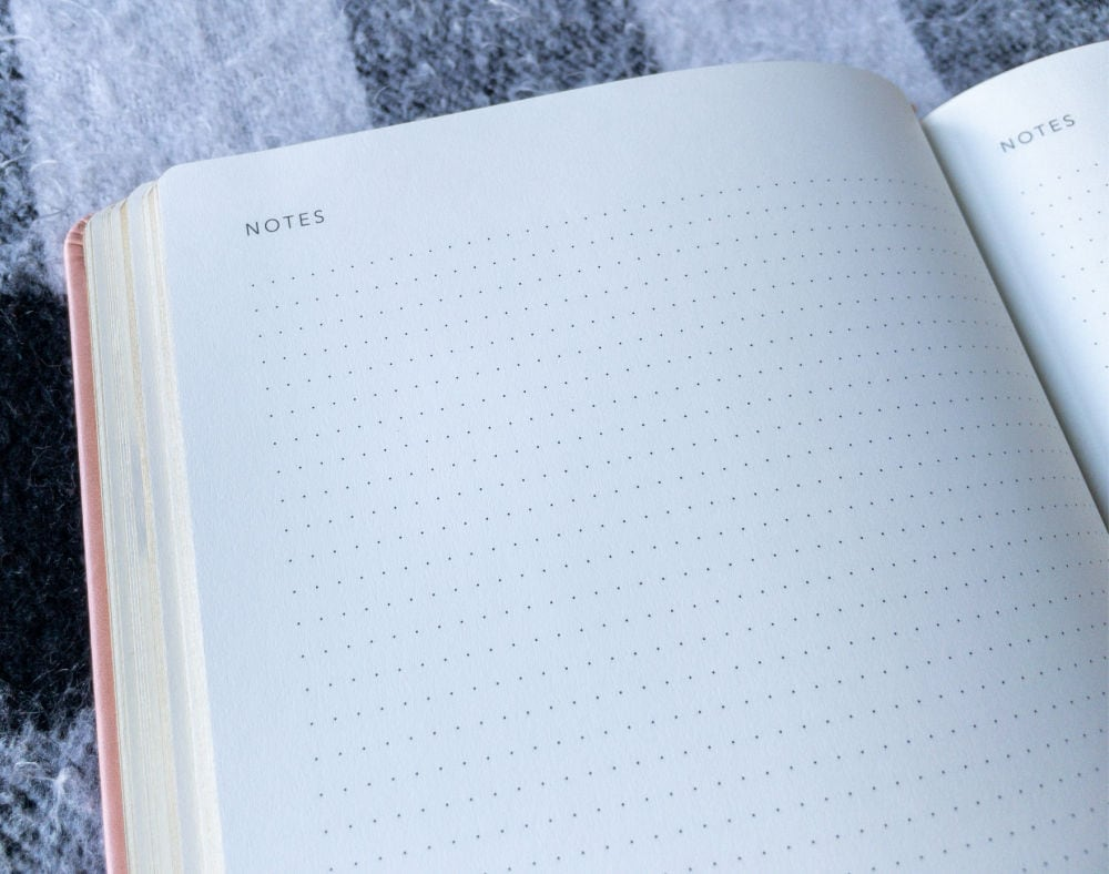 dotted pages to use for notes