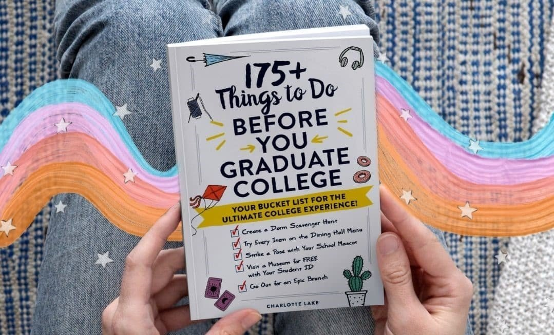 175+ Things to Do Before You Graduate Book cover